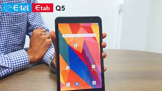 Correct way of inserting SIM card to E-tel Q5 Tab