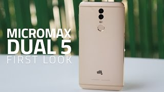 Micromax Dual 5 First Look | Dual Cameras, New Interface, and More