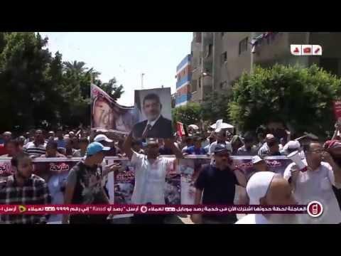 مسيرة حلوان الى ميدان الشهداء بمليونية كسر الإنقلاب