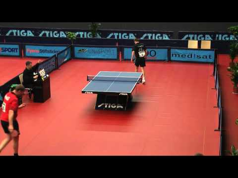 DM 2012 i bordtennis | Finn-Tugwell vs Carsten Jacobsen