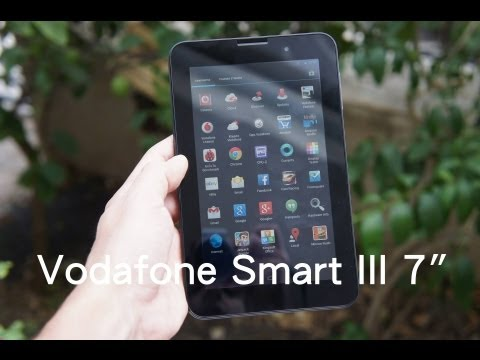 Vodafone Smart Tab III 7 hands-on (Greek)