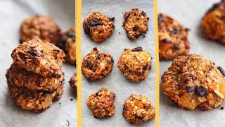 HEALTHY&QUICK OATMEAL COOKIES. SUGAR-FREE,DAIRY-FREE,GLUTEN-FREE! | OATMEAL BANANA COOKIES RECIPE