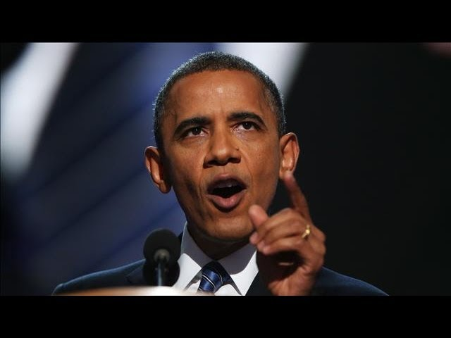 DNC 2012 - Barack Obama Rips Republicans on Budget Plan