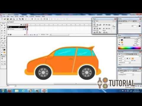 30 Menit Menggambar Mobil   Flash Tutorial