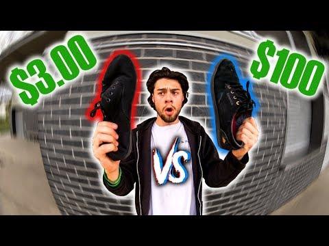 $3 SHOES VS $100 SHOES!