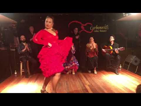 Tablao Las Carboneras: Claudia Cruz, por seguiriya