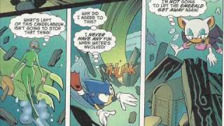 Sonic X Comic Issue 2