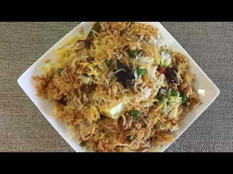 Vegetable Dum Biryani in Instant Pot ( Pot in Pot Method) || Recipe # 77