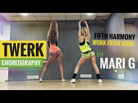 Twerk Choreography by Maria Gnatenko (Booty Dance) - Fifth Harmony - Work From Home