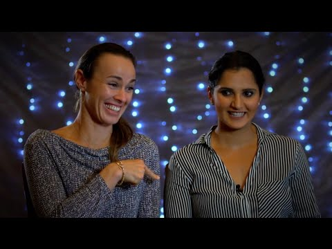Martina Hingis & Sania Mirza Play 'Who Knows Who'