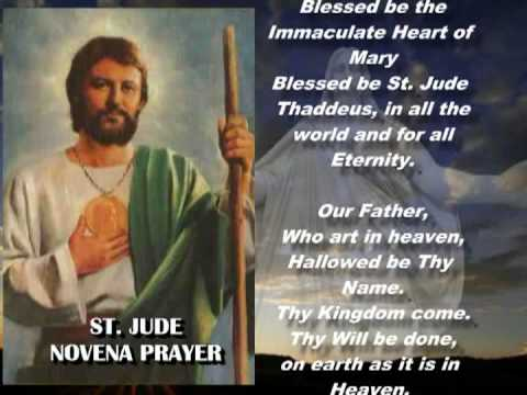 Novena to Saint Jude Music Videos