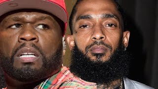 Nipsey Hussle Fans BLAST 50 Cent Over His Rude Instagram Post!