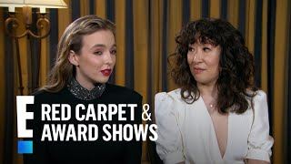 "Sandra Oh & Jodie Comer Spoil Where ""Killing Eve"" Picks Up 