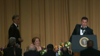 Best Obama, Kimmel jokes from WH Correspondants Dinner