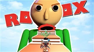 ESCAPE BALDI OBBY WHILE YOU STILL CAN!! | The Weird Side of Roblox: Baldi's Basics RP
