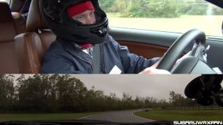 Track Drive: 2016 Dodge Challenger Hellcat (In the Rain!)