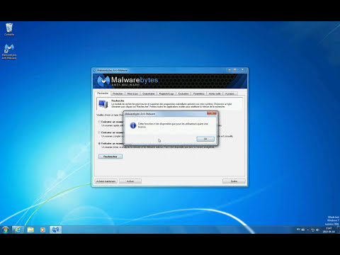 Télécharger, installer et désinstaller l'anti spyware Malwarebytes