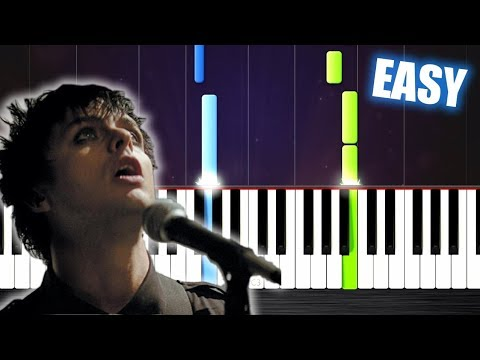 Green Day - Wake Me Up When September Ends - EASY Piano Tutorial by PlutaX