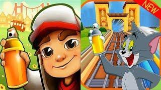 Subway Surfers DINO vs Subway TOM and JERRY Run Gameplay HD