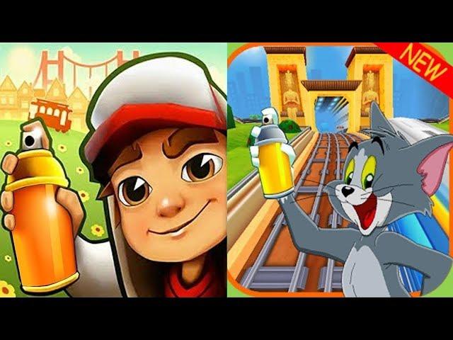Subway Surfers DINO vs Subway TOM and JERRY Run Gameplay HD thumbnail