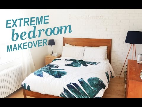 EXTREME BEDROOM MAKEOVER | THE SORRY GIRLS