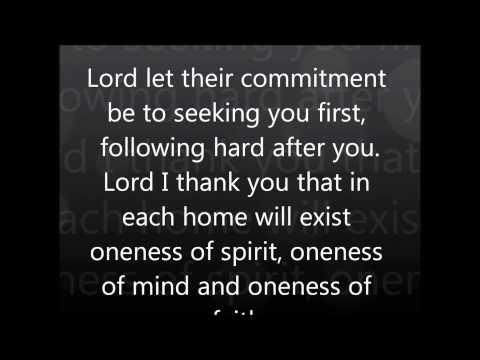 Prayer for Unity 2012