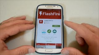 FlashFire**Samsung Galaxy S4**How to install and add WiFi Tethering