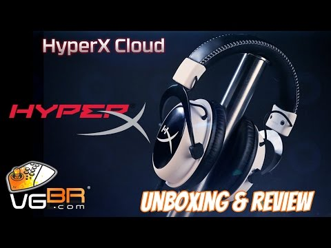 Unboxing e Review HyperX CLOUD Gaming Headset