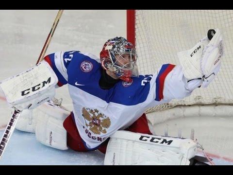 Сергей Бобровский Россия 4-0 США ЧМ-2015