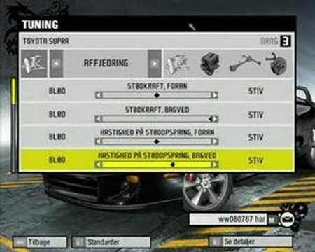 Prostreet Supra Tuning Guide Ps3 591s Drag