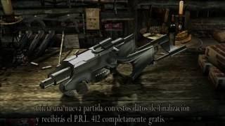 Como conseguir arma especial PRL 412 (modo profesional) en  resident evil 4