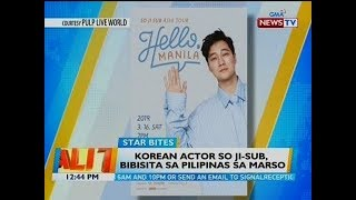 BT: Korean actor So Ji-Sub, bibisita sa Pilipinas sa Marso