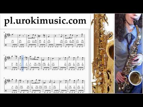 Nauka Gry Na Saksofonie (Altowy) Harry Potter - Hedwig's Theme Nuty Poradnik Um-i463