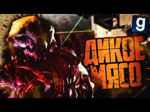 Garry's Mod #13 - ДИКОЕ МЯСО ► Zombie Survival