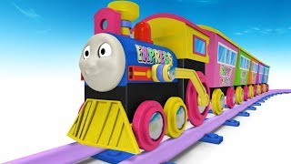 Thomas and Friends - Toy Trains - Trains for Kids - Toy Factory Cartoon - Train Cartoon for Children