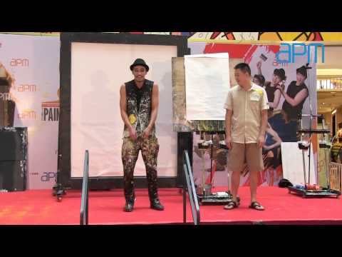 20140928 Hero No.1 Drawing Performance video