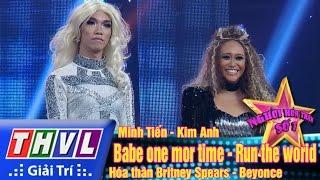 THVL | Người Hóa Thân Số 1 - Tập 11: Minh Tiến, Kim Anh Hóa Thân Britney Spears Và Beyonce