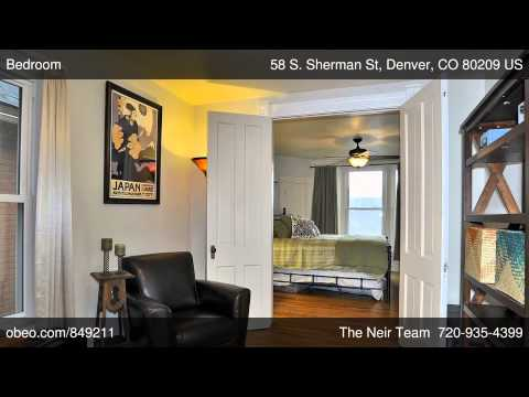 58 S. Sherman St, Denver CO 80209