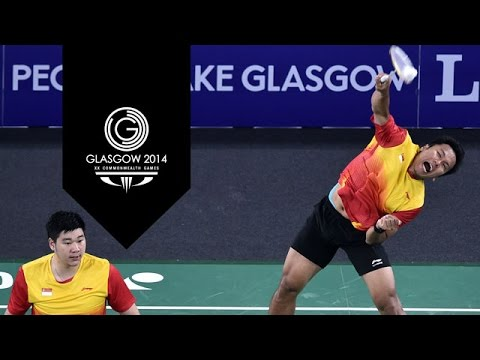 Badminton - Day 11 Highlights Part 7 | Glasgow 2014 video