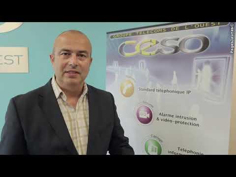 CESO Groupe Télécoms de l'Ouest à La Rochelle en Charente-Maritime, téléphonie, alarmes.