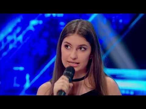 """Prezentare. Alexia Popescu: """"Am așteptat să împlinesc 14 ani să vin la """"X Factor"""""""