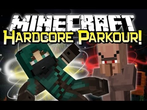 Minecraft EVIL VILLAGER KIDNAP & HARDCORE PARKOUR! - Cubes Edge...