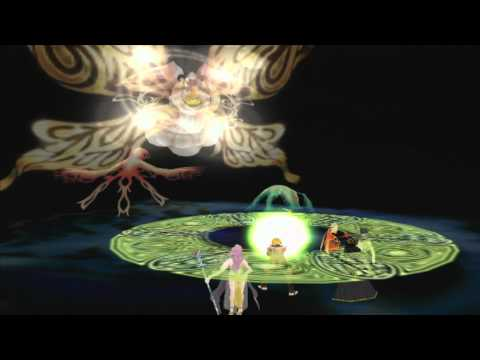 Suikoden V 082 - Final Boss: The Sun Rune Incarnation aka A Giant Moth and its Henchmen/women