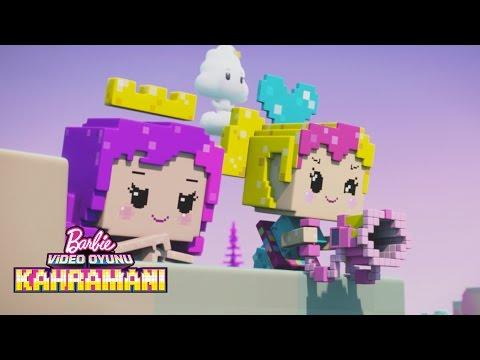 Herkes oyunda mı? Haydi bu oyunu kazanalım! | Barbie Video Oyunu Kahramani | Barbie