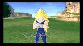 Dragon Ball: Raging Blast - Story Mode - SSJ3 Vegeta What If