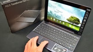 Asus Transformer Pad Infinity Mobile Dock_ Unboxing & Review