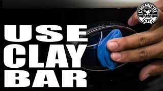 How To Clay Bar Your Car - Chemical Guys Auto Detailing