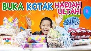 Membuka kotak surprise kado ulang tahun ♥️ Uyyus's Gift Opening 8th Birthday
