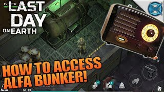 HOW TO ACCESS ALFA BUNKER! | Last Day on Earth: Survival | Let's Play Gameplay | S02E04