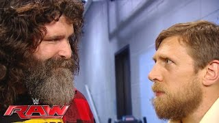 The battle lines are drawn between Mick Foley and Daniel Bryan: Raw, July 18, 2016